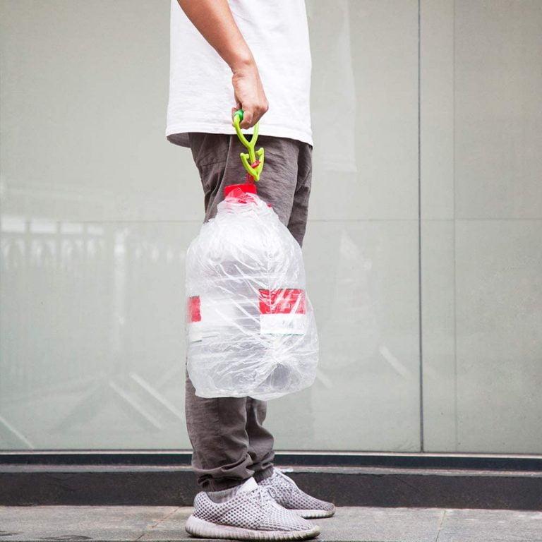 Carrier Bag Holder