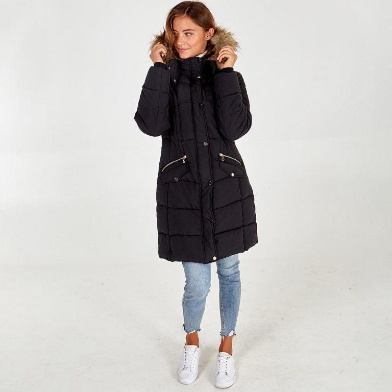 Girls Long Padded Coat