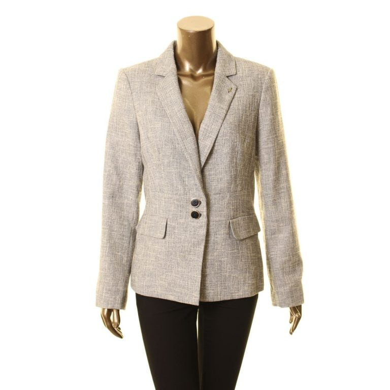 Mens Tweed Blazer With Elbow Patches