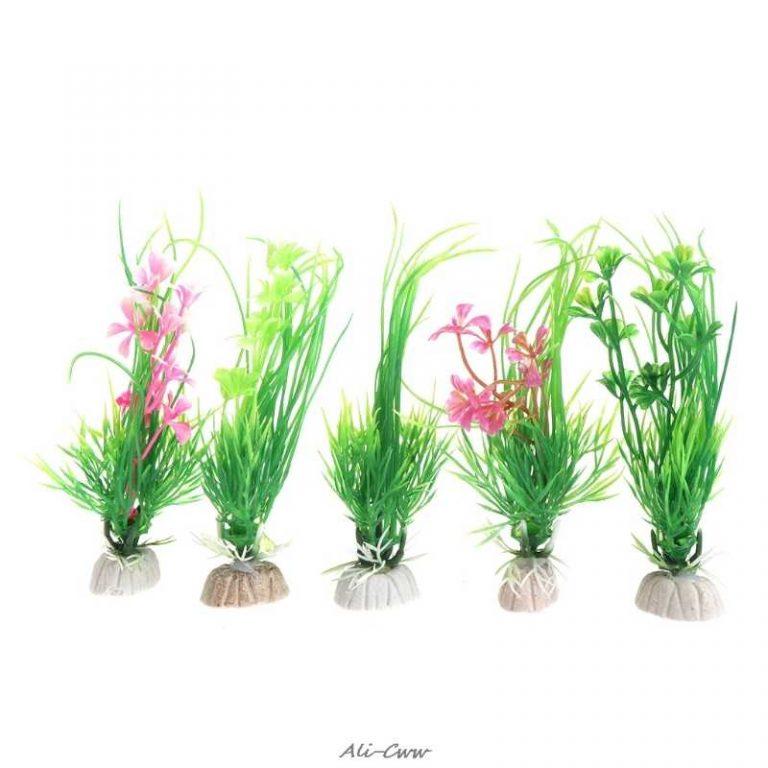 Plastic Fish Tank Plants