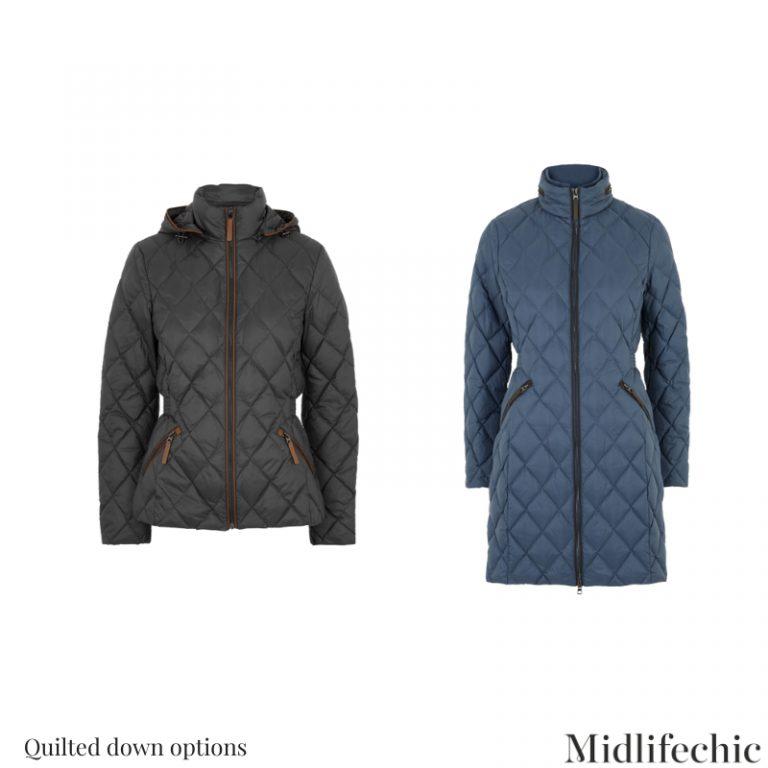 Ladies Quilted Coat