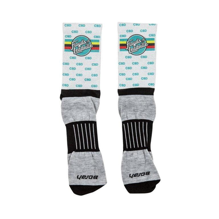White Compression Socks