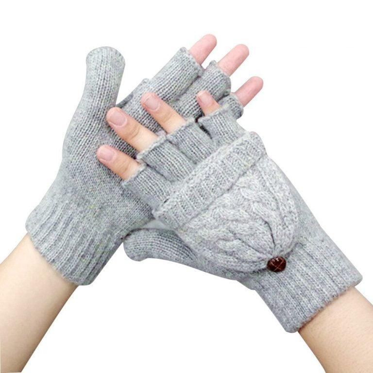 Womens Fingerless Gloves
