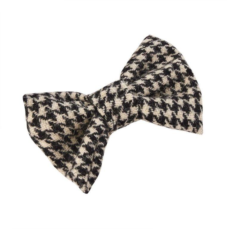Tweed Dog Bow Tie
