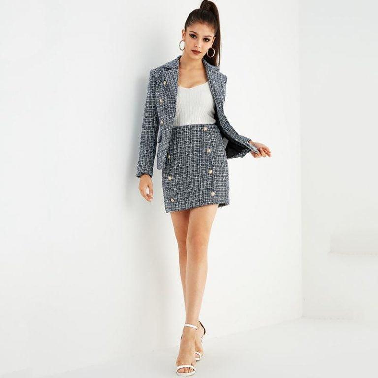 Women'S Tweed Suit