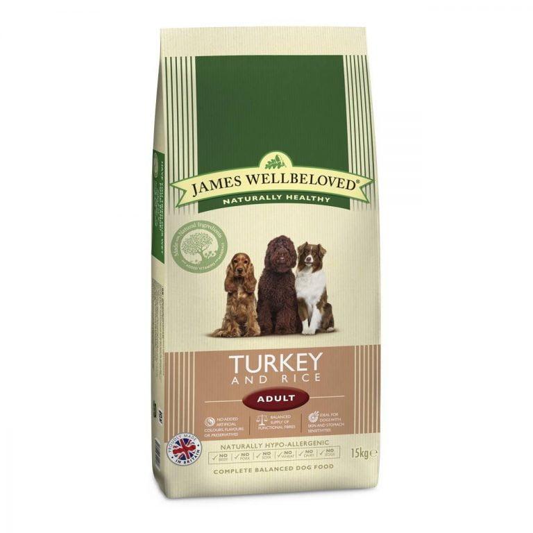 James Wellbeloved Dog Food 15kg