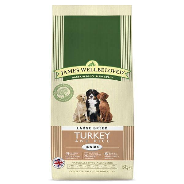 James Wellbeloved Junior Turkey And Rice