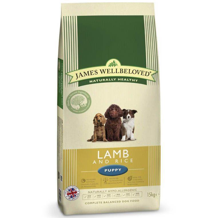 James Wellbeloved Puppy Food 15kg