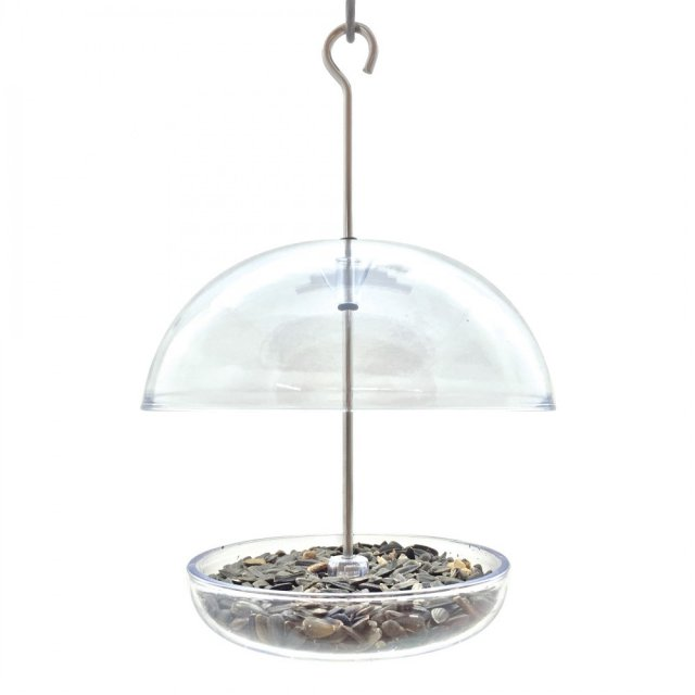 Metal Niger Seed Feeder With Tray