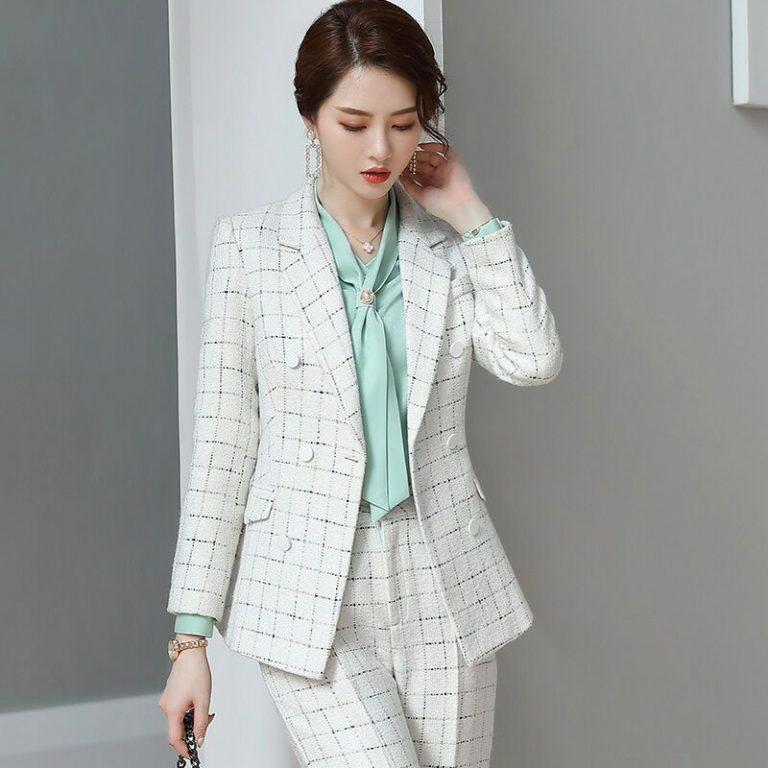 Ladies Tweed Field Jacket